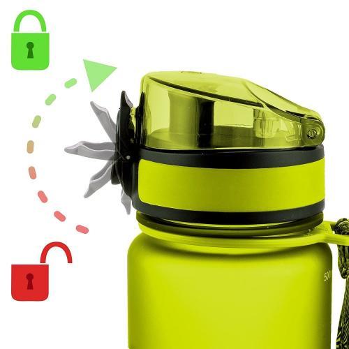 Бутылка Uzspace 500 мл зеленая