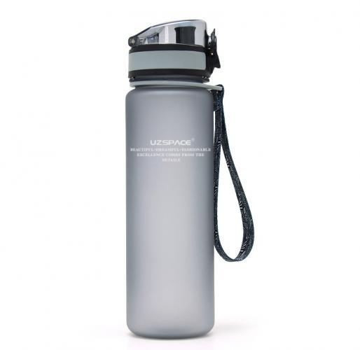 Бутылка Uzspace 500 мл серая