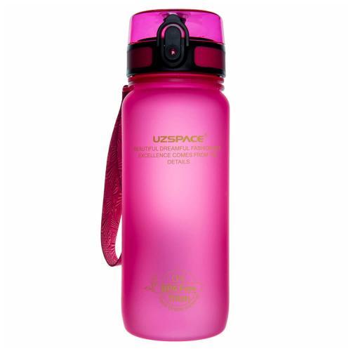 Бутылка Uzspace 650 мл розовая