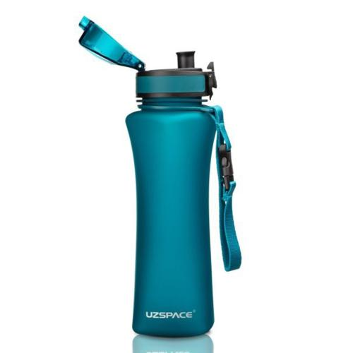 Бутылка Uzspace One Touch 500 мл голубая