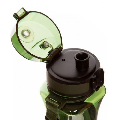 Бутылка Uzspace One Touch 500 мл зеленая