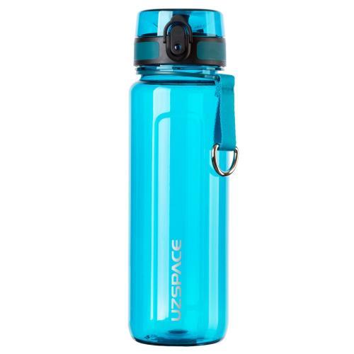 Бутылка Uzspace One Touch 750 мл голубая
