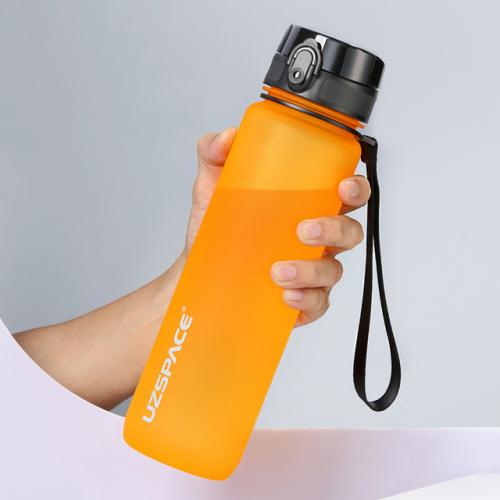 Бутылка Uzspace Colorful Frosted 500 мл оранжевая