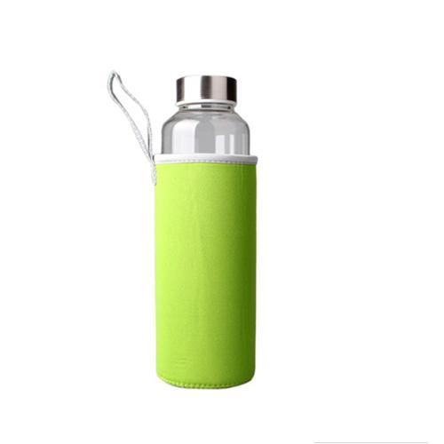 Бутылка в чехле 280 мл зеленая