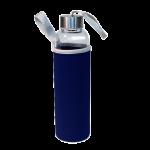 Бутылка в чехле 550 мл синяя