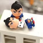 """Флешка USB Microdrive """"Супермен"""" 16GB"""