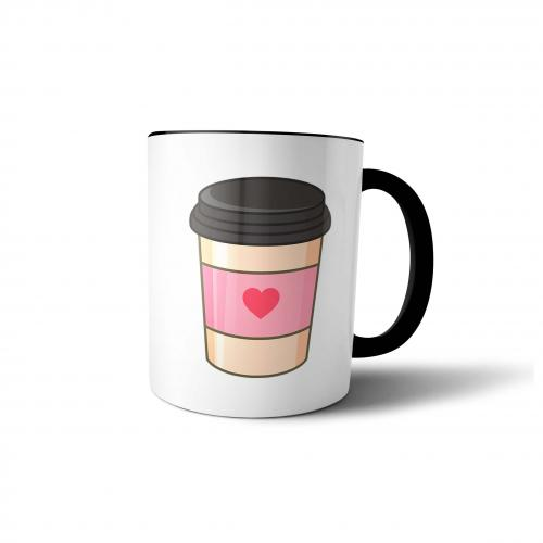 """Кружка """"Стаканчик кофе"""" 300 мл"""