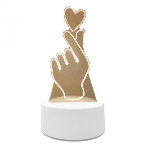 """Светильник 3D """"Сердечко в руке"""""""