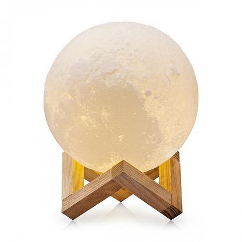 Ночник Moon Lamp 15 см разноцветный