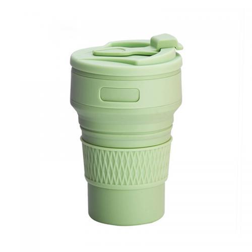 Стакан складной Travel Folding Cup 350 мл зеленый