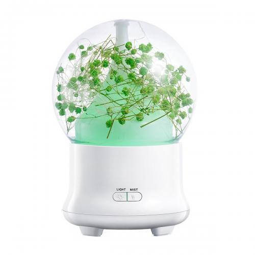 Увлажнитель воздуха Aroma Flower 100 мл зеленый