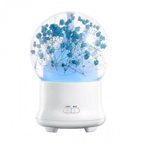 Увлажнитель воздуха Aroma Flower 100 мл синий