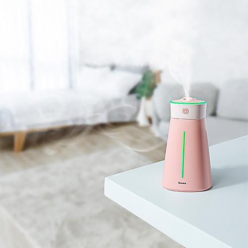 Увлажнитель воздуха Baseus Slim Waist Humidifier 380 мл розовый