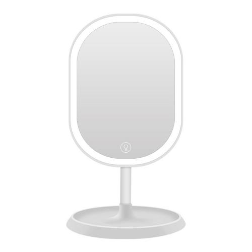 Косметическое зеркало с подсветкой LED Makeup TD-025 белое